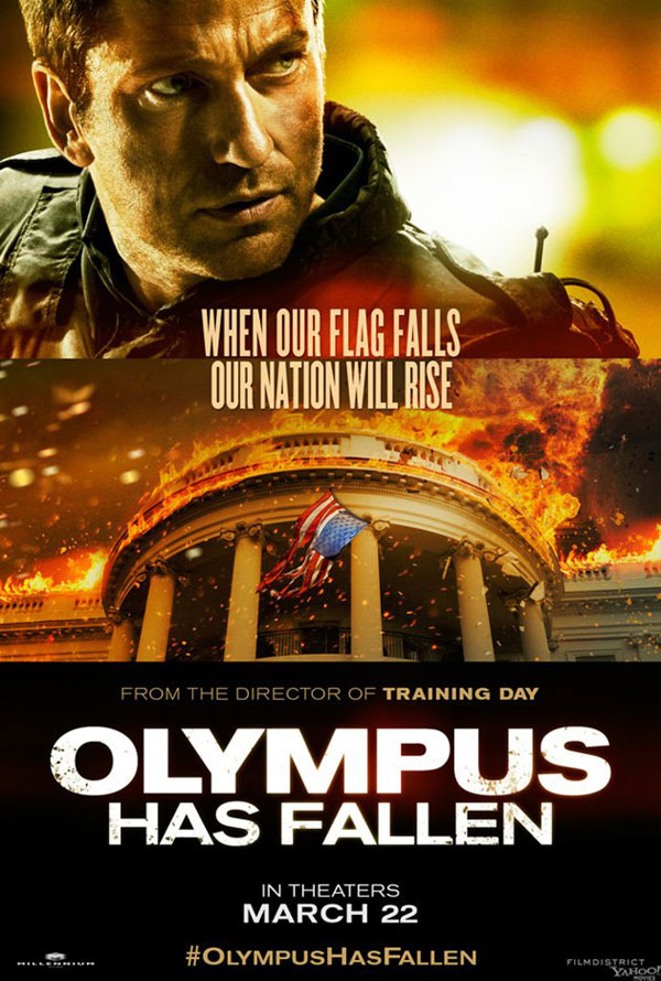Olympus Has Fallen Character Poster
