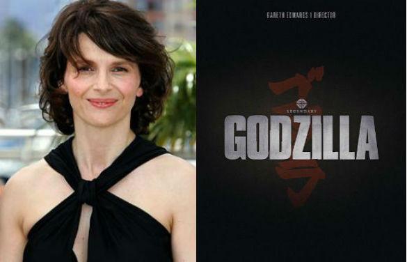 Juliette Binoche / Godzilla (2014) Teaser Poster