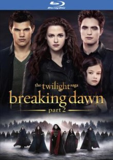 Breaking Dawn part 2 blu ray cover