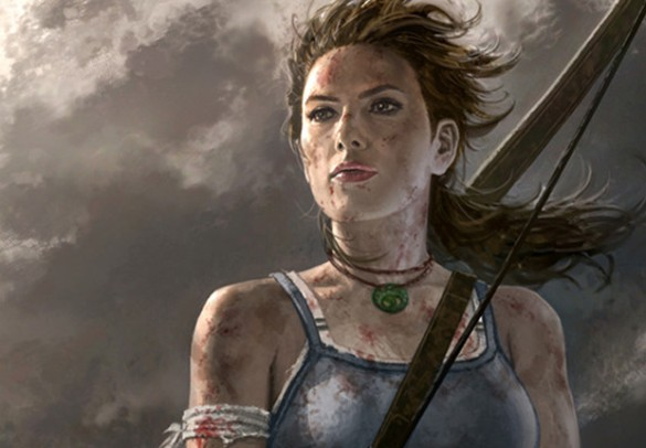 Lara Croft Tomb Raider game reboot