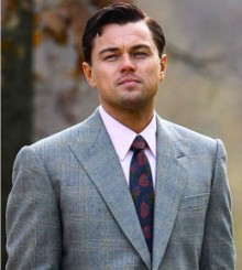 Leonardo DiCaprio in Wolf of Wall Street