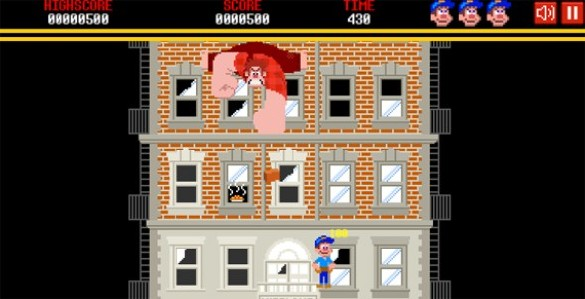 Wreck it Ralph game screen