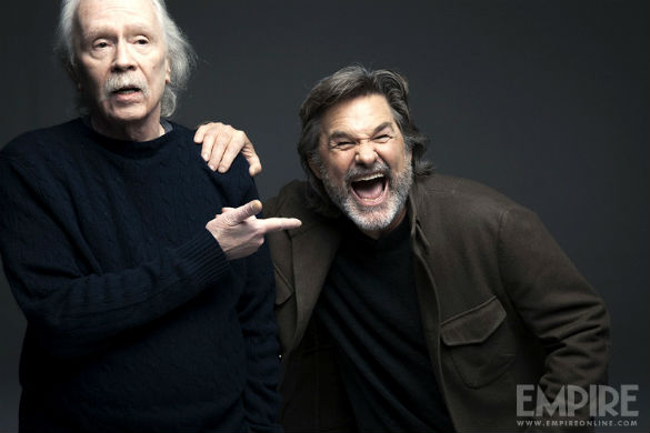 John Carpenter and Kurt Russell