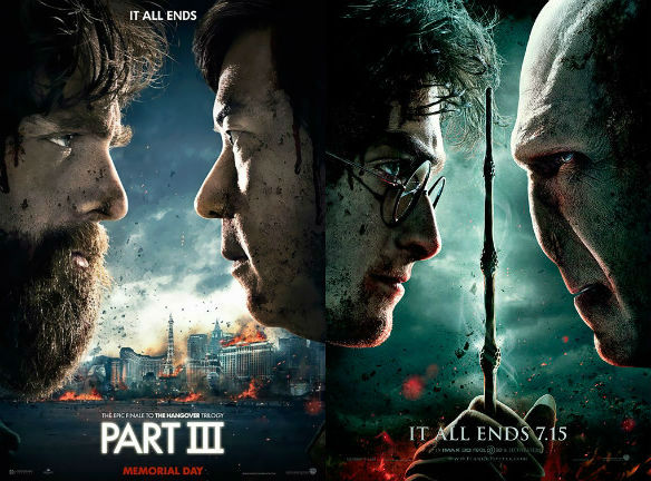 The Hangover Part III / Harry Potter and the Deathly Hallows -- Part 2