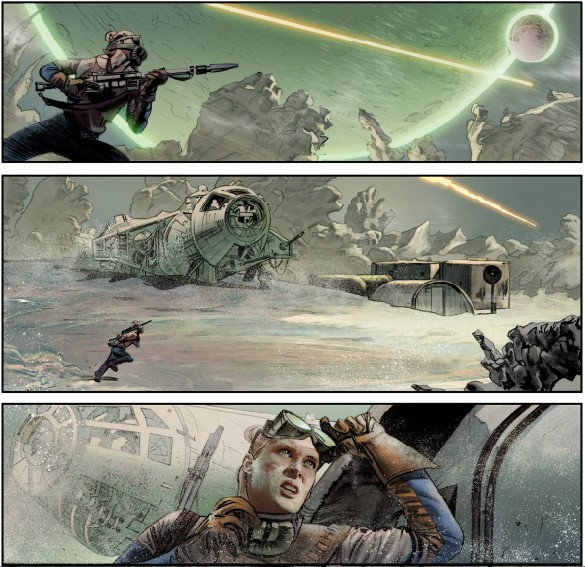 The Star Wars comic art 2