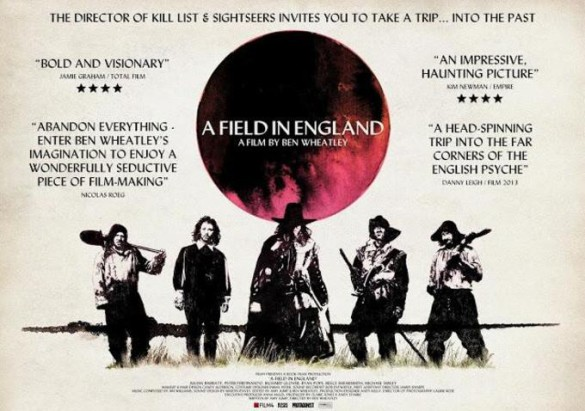A Field in England quad poster