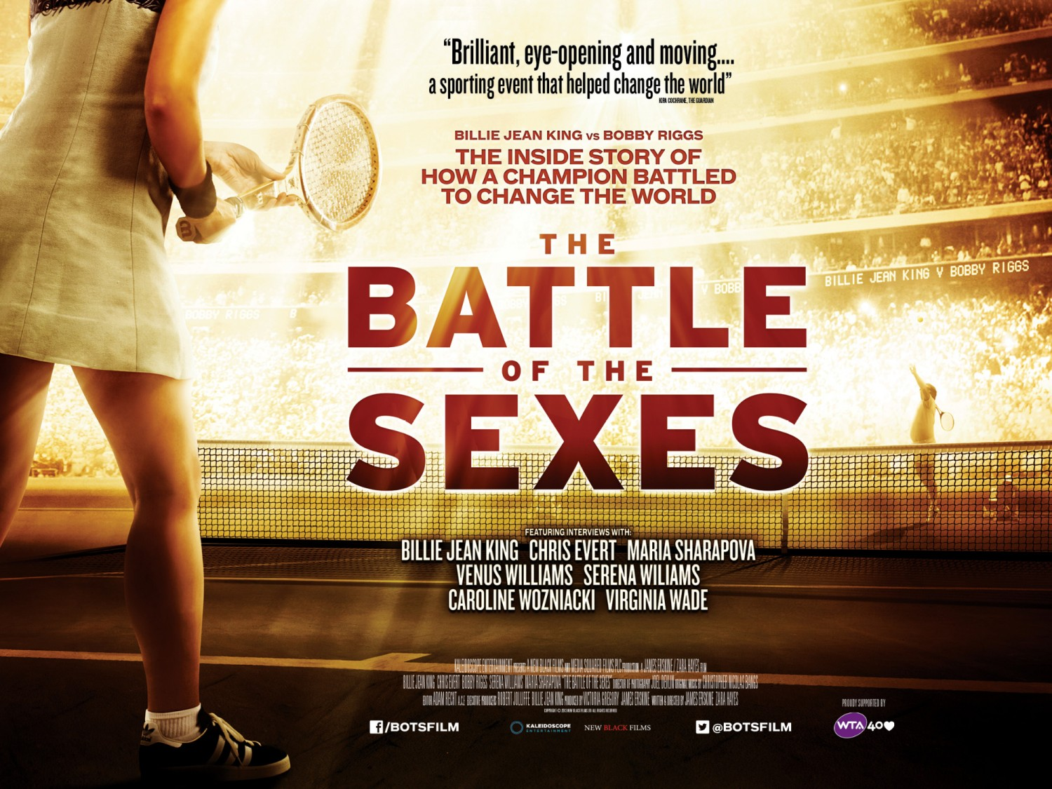 battle of the sexes No sport reflects the spirit of one-on-one competition like tennis, and there are  two movies battling for supremacy inside battle of the sexes,.