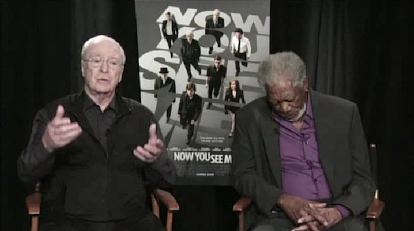 Watch: Morgan Freeman Hilariously Dozes Off During a Dull TV Interview...