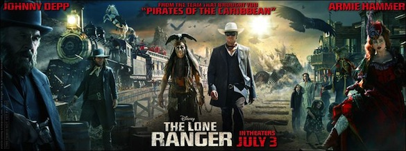 New 'The Lone Ranger' Trailer Goes Heavy on the Ridiculous Action...