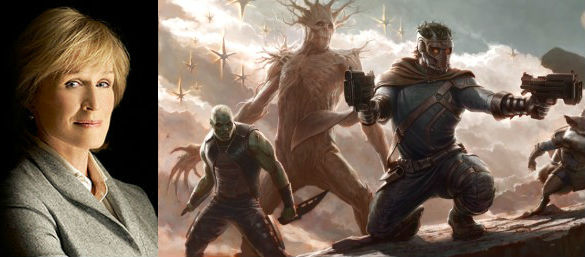 Glenn Close / Guardians of the Galaxy