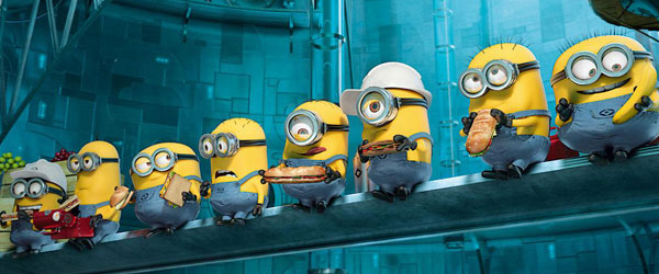 Minions in the Factory