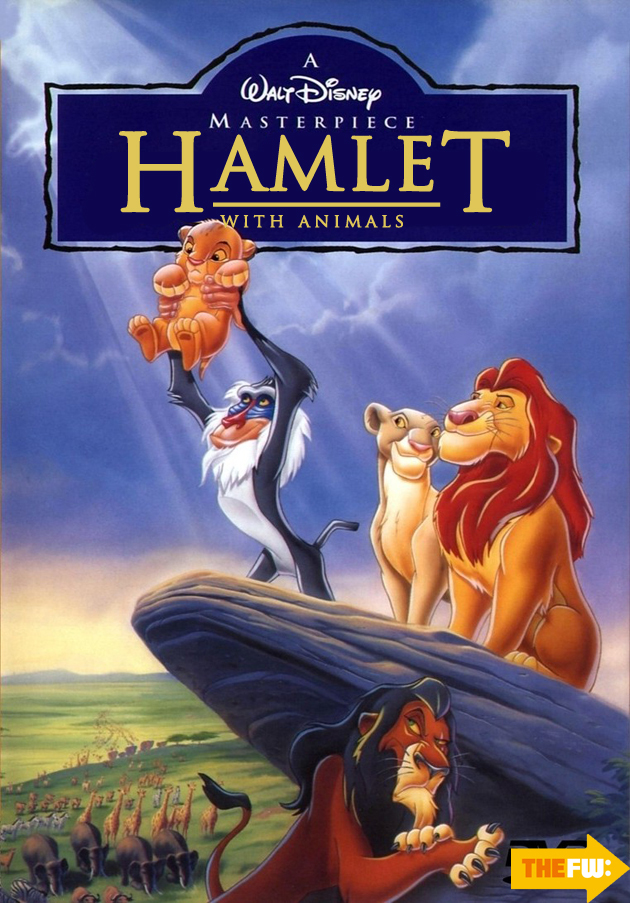 lion king comedy poster