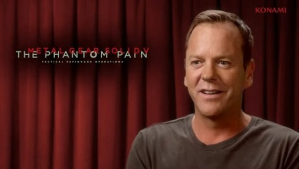 Kiefer Sutherland Metal Gear Solid reveal