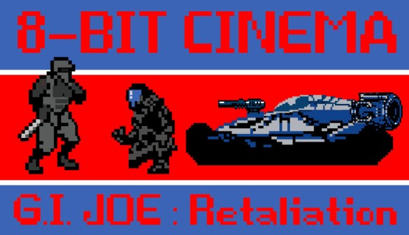 GI Joe Retaliation 8-bit logo