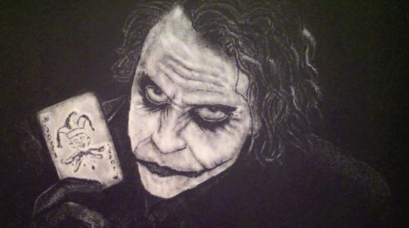 Joker Salt Portrait