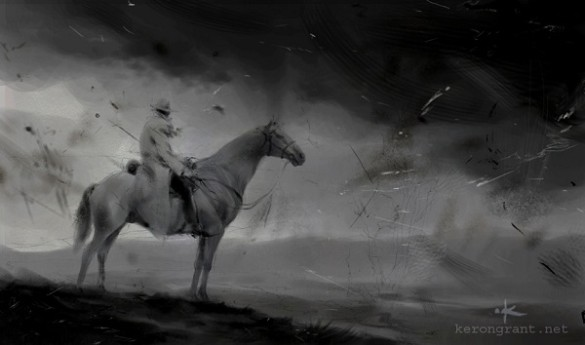 Lone Ranger TV concept art