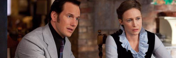 Patrick Wilson & Vera Farmiga as Ed & Lorraine Warren