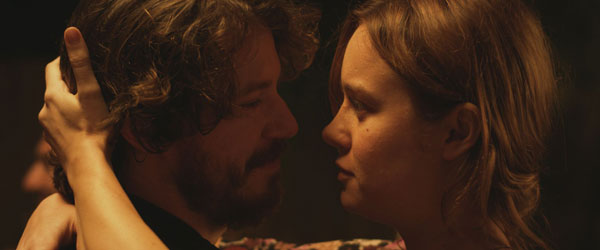 Brie Larson and John Gallagher Jr. in Short Term 12