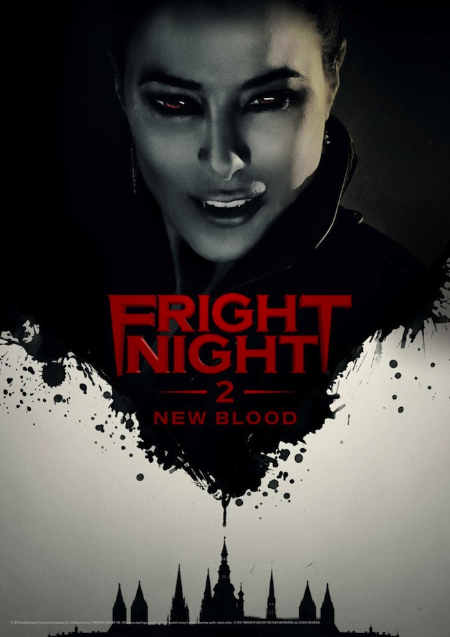 Fright Night 2 B 724x1024 Updated With Trailer: Fright Night 2 is More Like an Abandoned Remake Than a Sequel