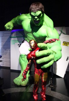Hulk figure madam tussaud's london