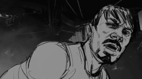 Iron Man 3 storyboard image