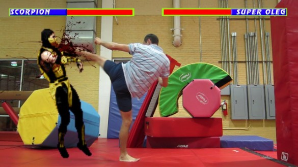 Mortal Kombat real life