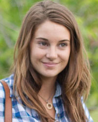 Shailene Woodley is Hazel