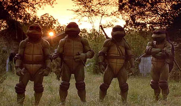 Live action ninja turtle movie