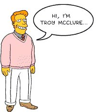 Simpsons Troy McClure