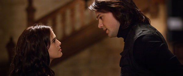 Zoey Deutch and Danila Kozlovsky in Vampire Academy