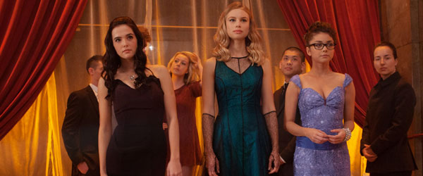 Zoey Deutch, Lucy Fry and Sarah Hyland in Vampire Academy
