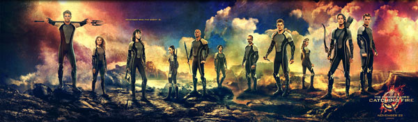 Hunger Games: Catching Fire Victors Banner