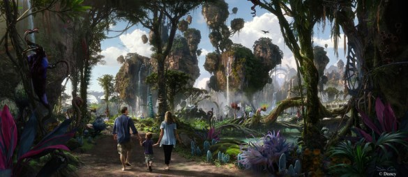 Avatar Disney concept art