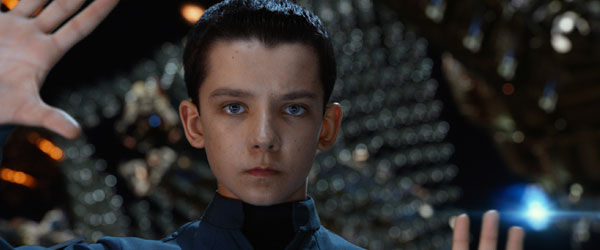 Asa Butterfield as Ender