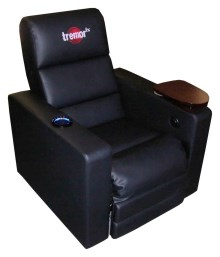 Tremor FX vibrating theater chair
