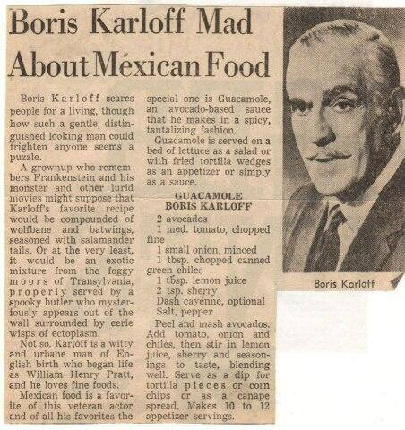 Boris Karloff article
