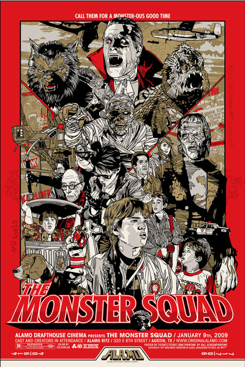 Mondo Monster Squad Poster