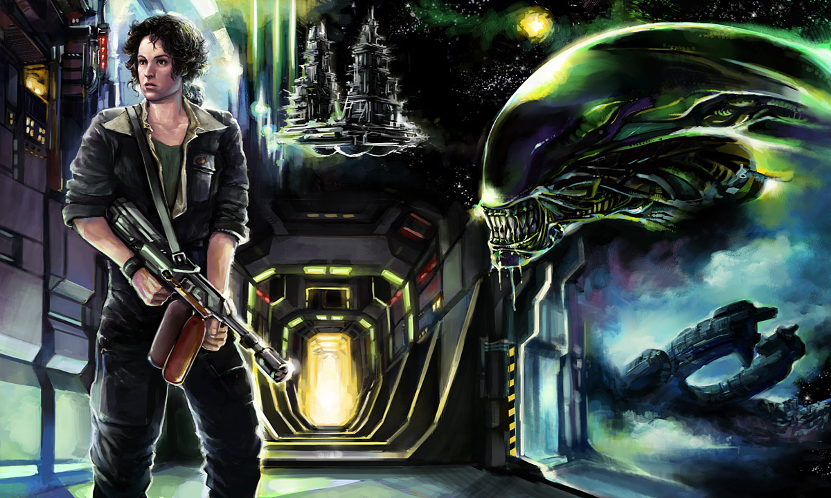 ripley art Ripleys Daughter Is Getting Her Own Aliens Spin off, and Thats Not a Bad Thing (Updated)