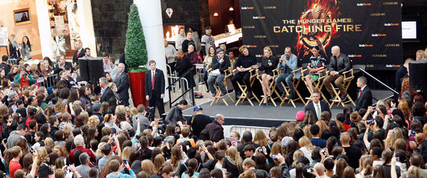 Catching Fire Mall Tour