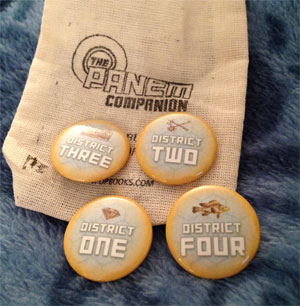 The Panem Companion Pins