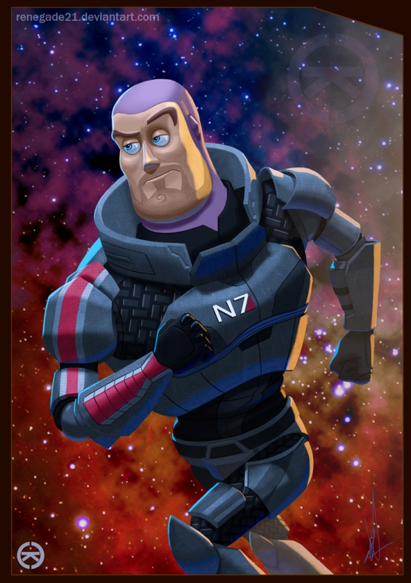 Mass Effect buzz lightyear