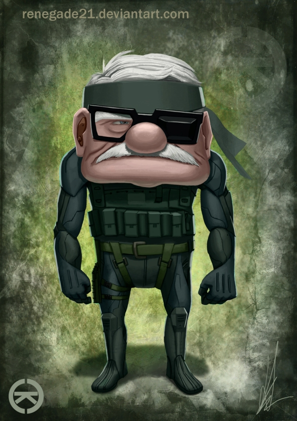 Up meets Metal Gear