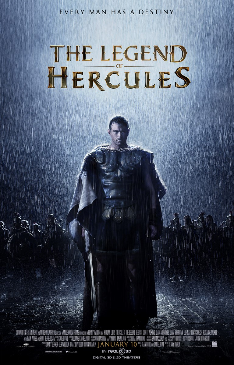 New Movie Posters: 'The Legend of Hercules,' 'Jack Ryan ...