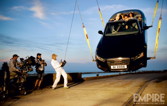 Transformers 4 Micahel Bay behind the scenes
