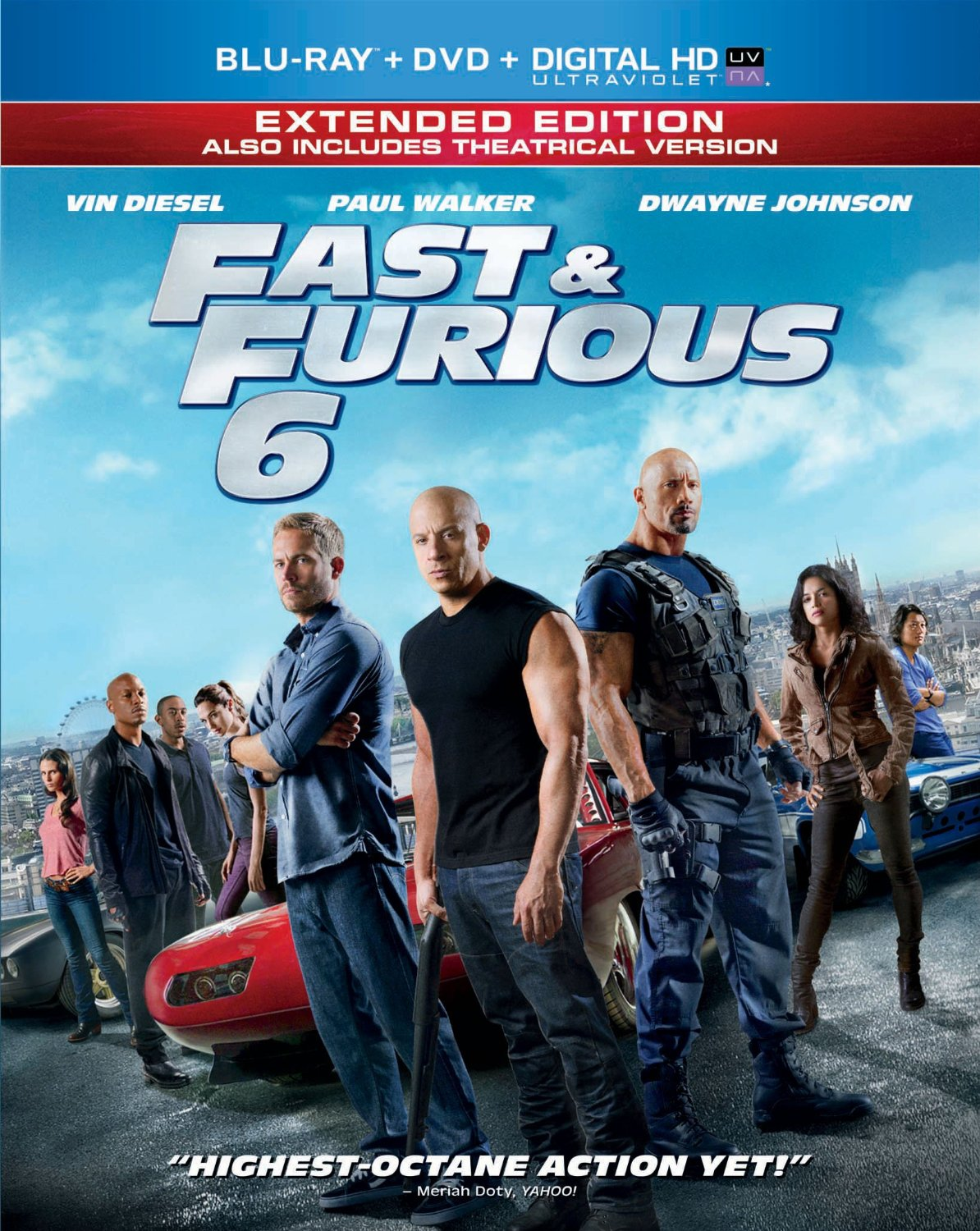 The 'Fast & Furious 6' Blu-ray Has a Scene From 'Fast & Furious 7' That Raises the Stakes Big T...