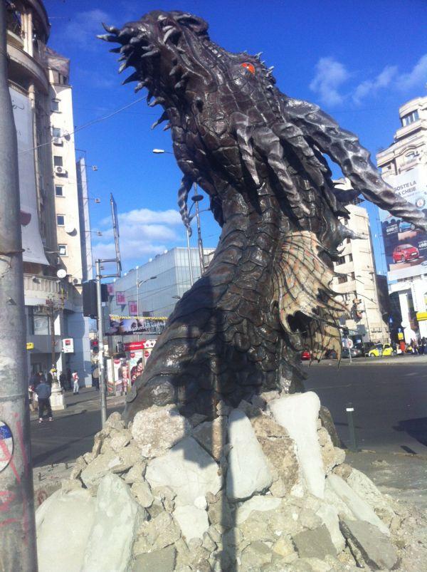 Smaug Dragon in Romania