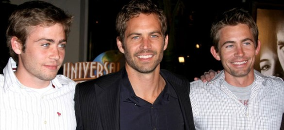 Paul Walker and brothers