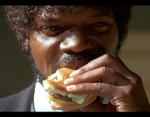 Pulp Fiction Jules Burger