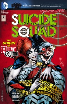 Suicide Squad comic cover