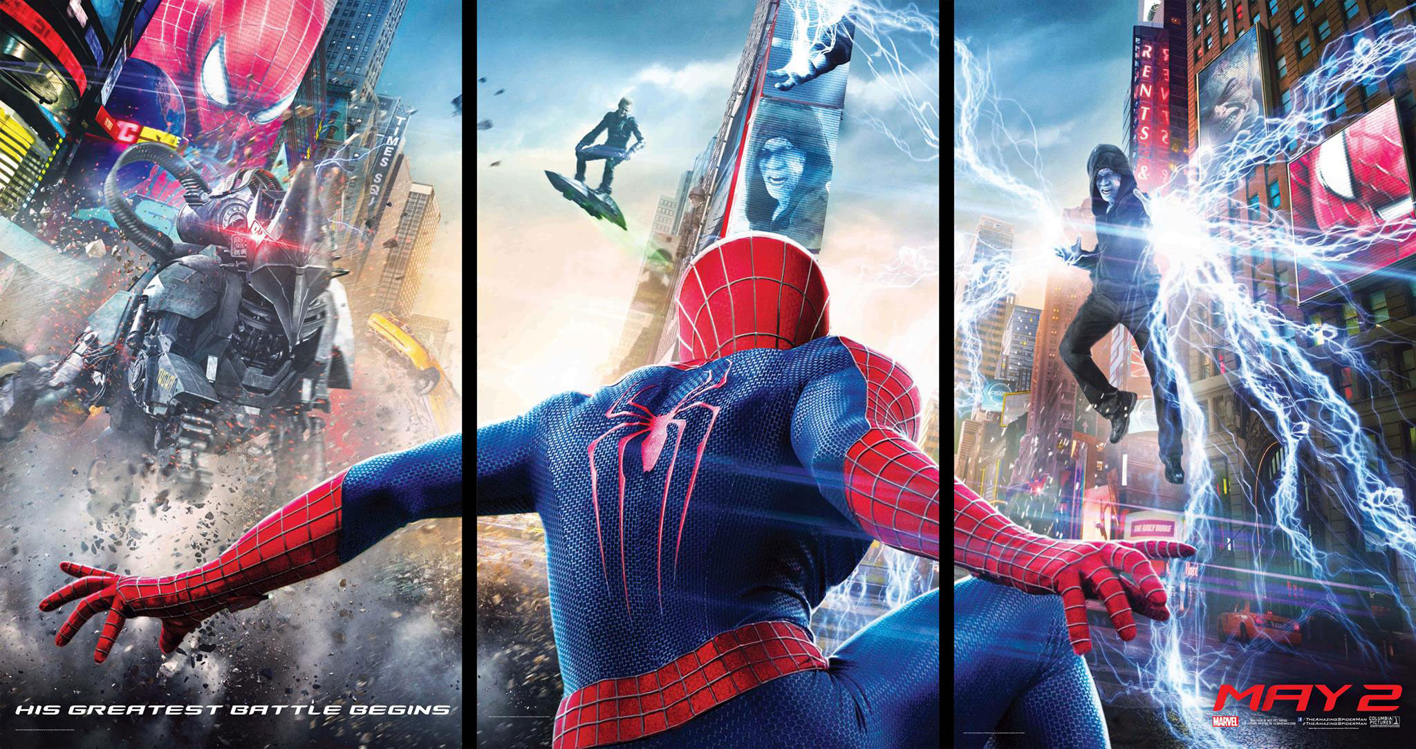 amazing spider man 2 banner Venom and The Sinister Six Will Get Standalone Films After The Amazing Spider Man 3